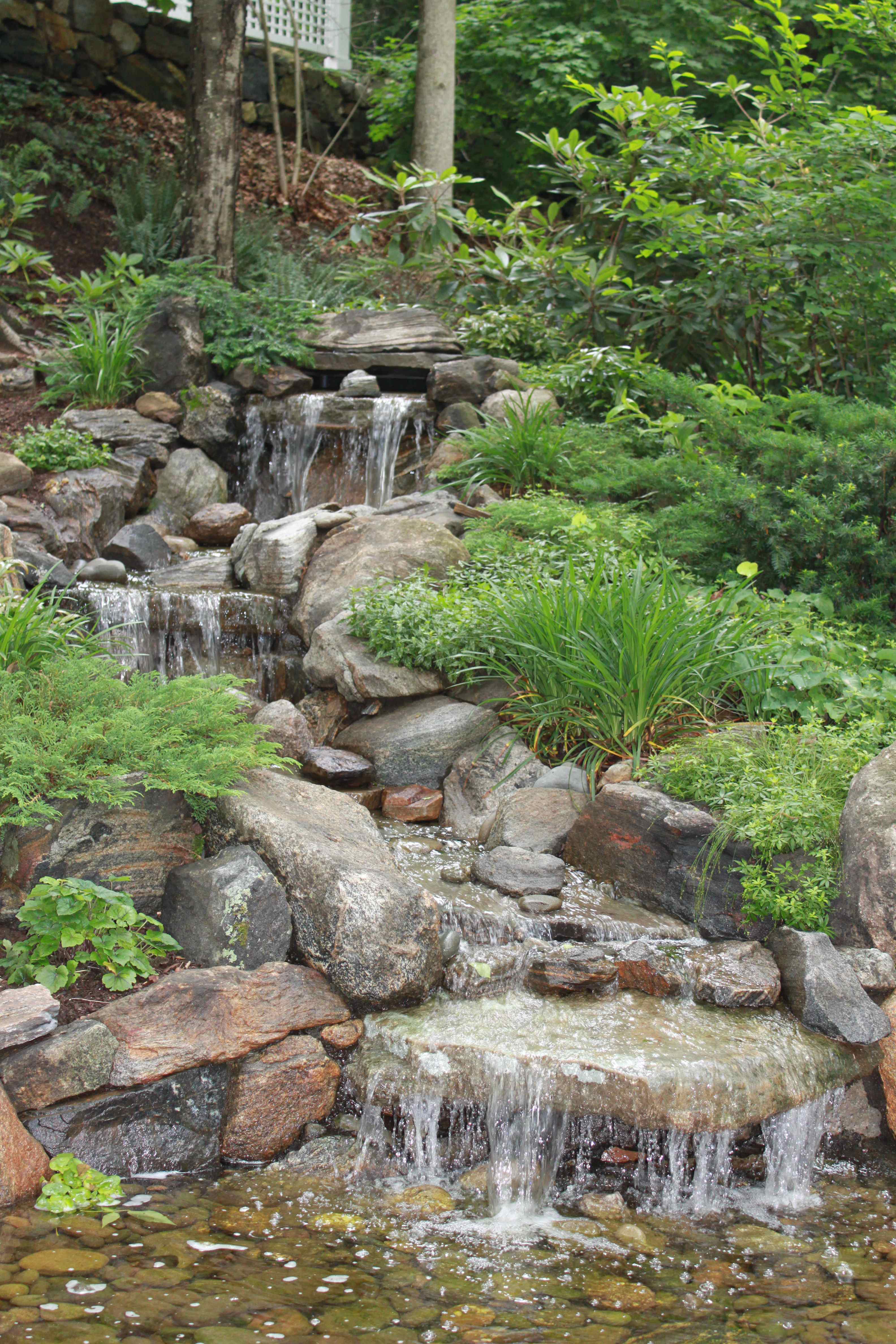 If water features are your passion, make sure you aren't doing jobs that take away from that. Photo: Jan Johnsen